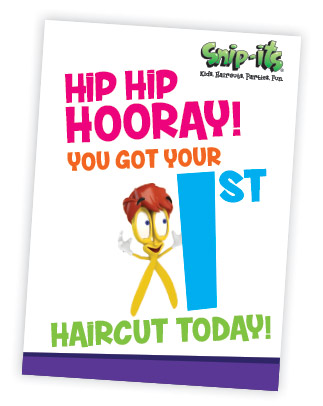 Hip Hip Hooray! You Got Your 1st Haircut Today!