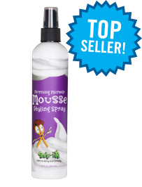 Morning Miracle Mousse Styling Spray from Snip-its