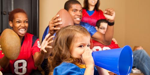 Kid-friendly Super Bowl