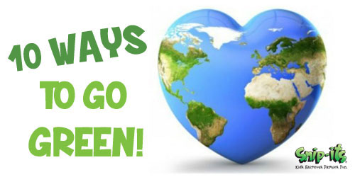10 Ways to Go Green for Earth Day