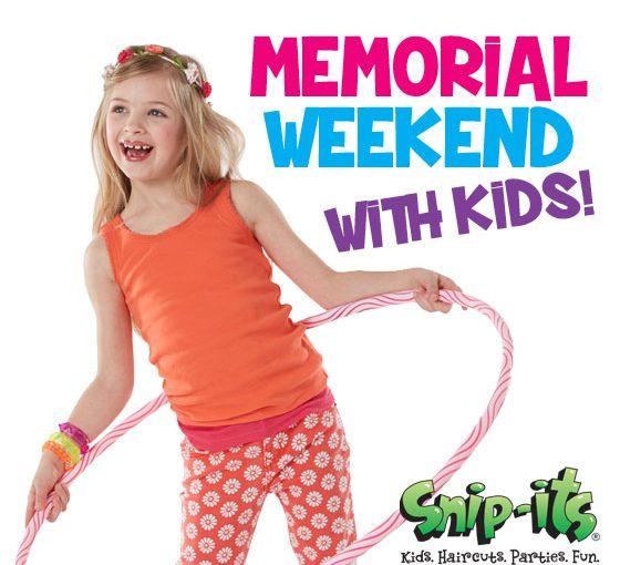 Memorial Weekend with Kids