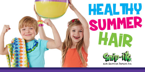 Healthy Summer Hair Tips