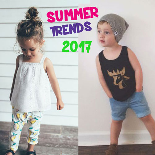 Summer Trends in Kids' Fashion and Hair