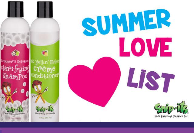 2017 Snip-its Summer Love List