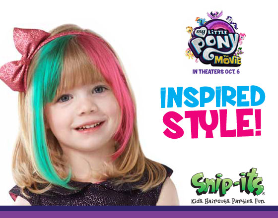 2017 Ponytail Style and Other Kids' Hair Trends Inspired by My Little Pony: The Movie