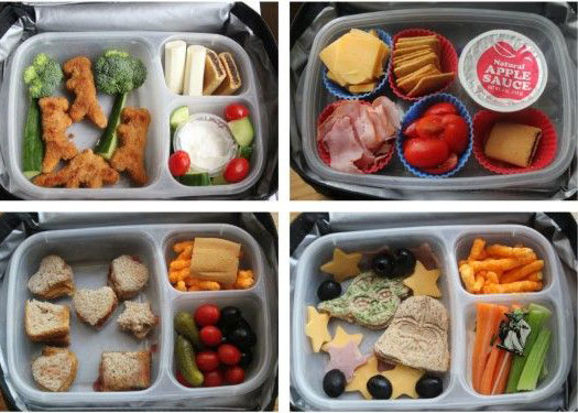 Snip-its kid approved lunch ideas
