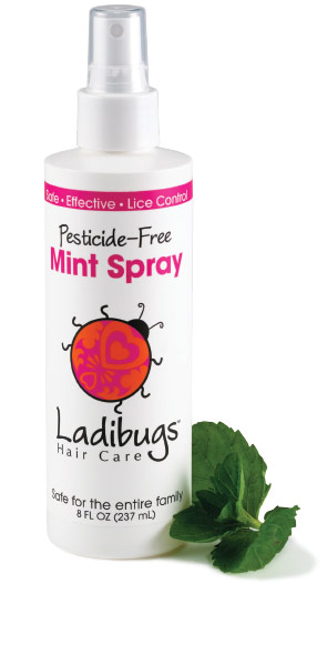 Ladibugs Lice Control Hair Spray from Snip-its
