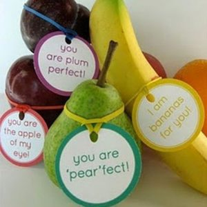 Fruit Valentine Idea
