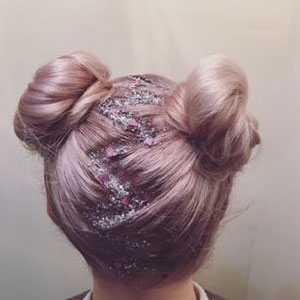 Glitter Roots Hair Trends