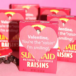 You're the raisin I'm smiling