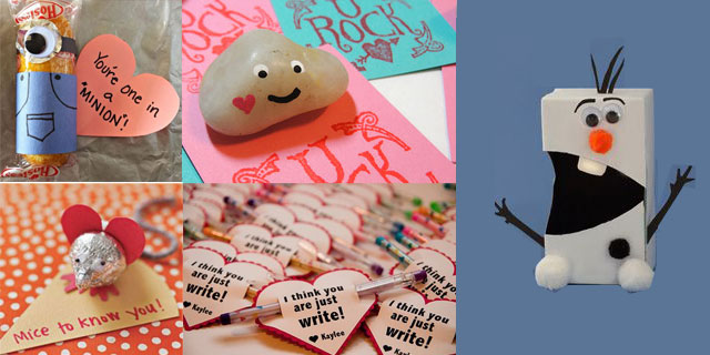 DIY Valentine Card Ideas for the Classroom