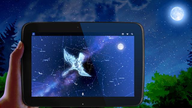 Stargazer's best friend, astronomy app for kids