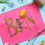 kid-friendly craft project for after the family nature walk