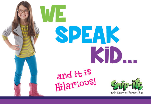 We Speak Kid…and it's hysterical!