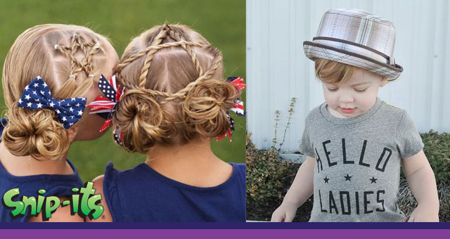 Snip Its Summer Styling Tips And Kid Hair Trends For 2018