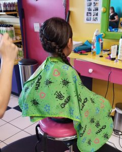 Snip-its Hair Care for kids hair uses natural ingredients