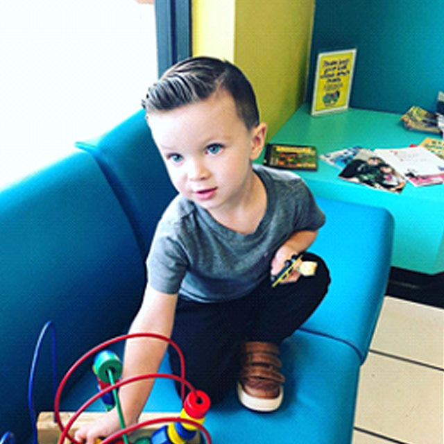 b8c36245f2a3 Snip-its Wacky Wax makes this a kid-friendly style your dapper little men  will be able to wear for school