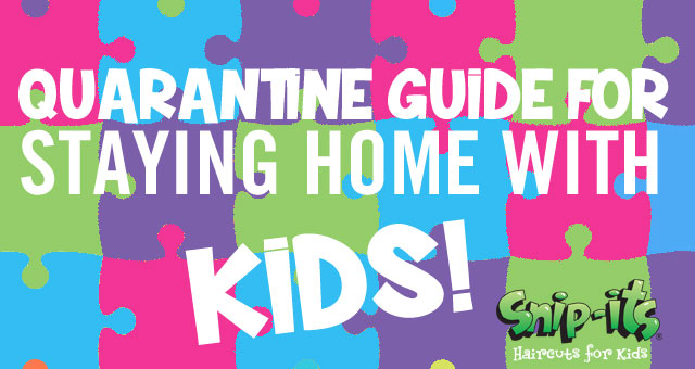 Snip-its quarantine escape with kids guide