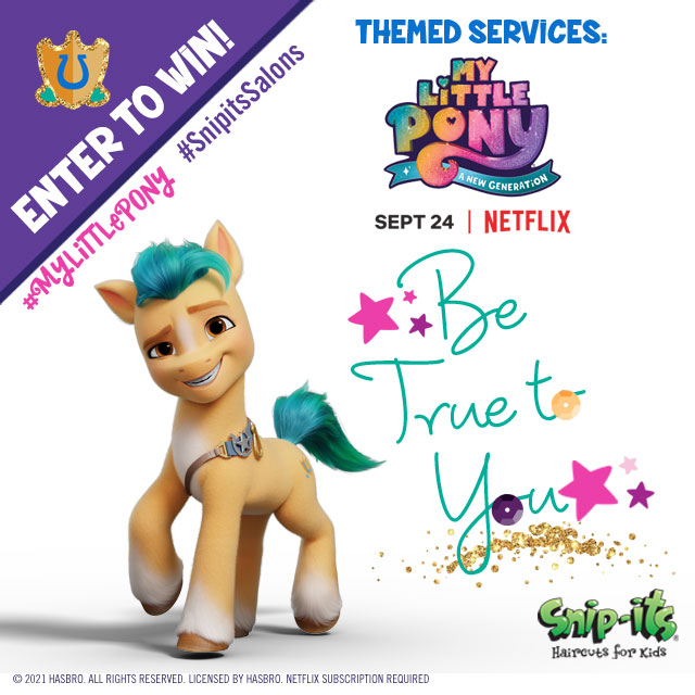 Hitch from My Little Pony: A New Generation Snip-its Sweepstakes September 2021