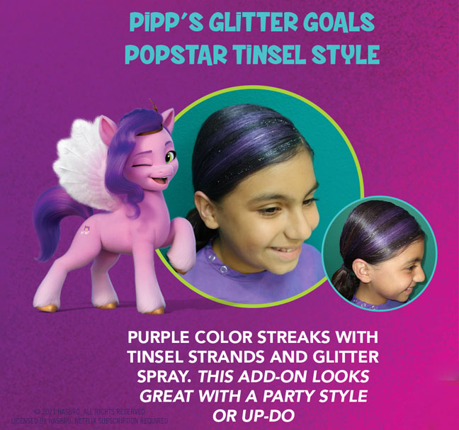 Snip-its Haircuts for Kids My Little Pony Find Your Sparkle Pipp