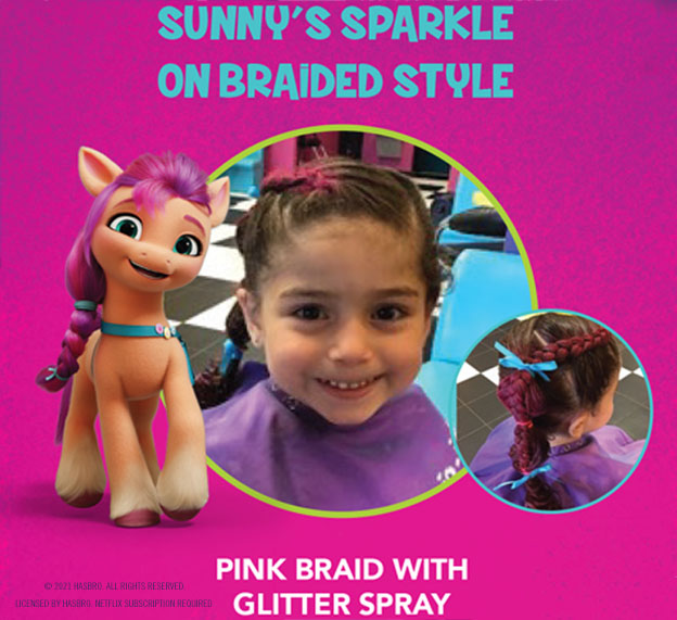 Snip-its Haircuts for Kids My Little Pony Find Your Sparkle Sunny