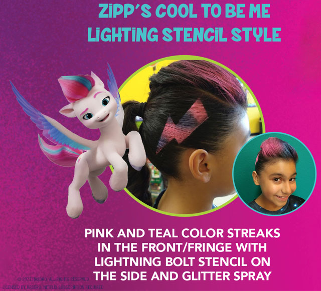 Snip-its Haircuts for Kids My Little Pony Find Your Sparkle Zipp
